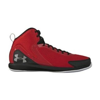 Under Armour Men's UA Jet 2 Basketball Shoes 15 Red Shoes