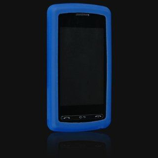 LG Vu / CU920 / CU915 PREMIUM DARK BLUE SILICONE SKIN CASE COVER Cell Phones & Accessories