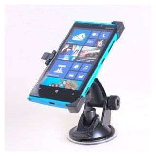 EnGive� Nokia Lumia 920 Car Mount Holder Stand in Black Color+ EnGive�Free Cleaning Cloth Cell Phones & Accessories