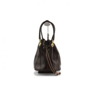 Leather Handbag Dark Brown   Tuscany Handmade Leather Bags Shoes