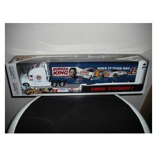 Tony Stewart #14 Burger King Have It Your Way Stewart Photo Hauler Transporter Tractor Trailer Semi Truck 1/64 Scale Winners Circle 2010 Toys & Games