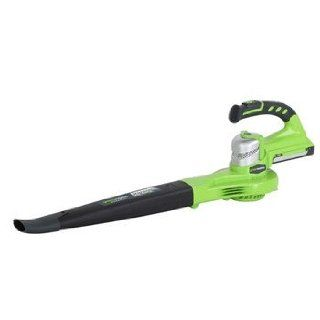 Greenworks 24122 24V Cordless Lithium Ion Two Speed Handheld Blower   Tool Only (Open Box)  Lawn And Garden Blower Vacs  Patio, Lawn & Garden