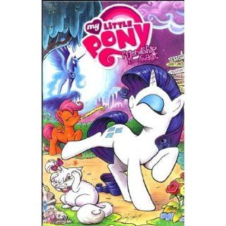 My Little Pony Friendship is Magic Volume 1 Comic Box Set of 1 6 3rd Printing Rarity and Fluttershy Version (My Little Pony) Katie Cook, Andy Price 0827714003994 Books