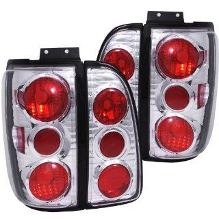 Anzo USA 211109 Lincoln Navigator Chrome Tail Light Assembly   (Sold in Pairs) Automotive
