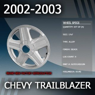 "2002 2003 Chevy Trailblazer Factory 17"" Wheels Set of 4 Automotive"