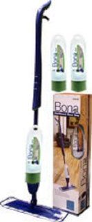 Bona Stone, Tile, Laminate Spray Mop Starter Set w/ 2 Cartridges (3 Total Cartridges)   Health And Personal Care