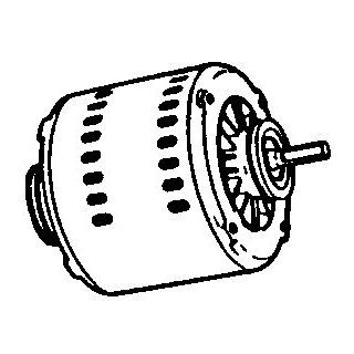 "ADOBEAIR 972J ""MASTER COOL"" ELECTRIC MOTOR 115 VOLTS  Electric Fan Motors  Patio, Lawn & Garden"