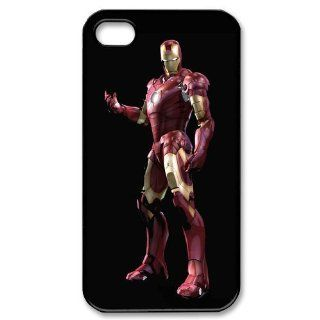 Custom Iron Man Cover Case for iPhone 4 4S PP 0228 Cell Phones & Accessories