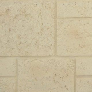 Texture Plus Indoor/Outdoor Siding Panel, Coral Block   Sample   Siding Materials