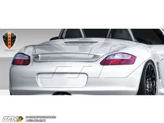 2005 2012 Porsche Boxster 987 Eros Version 1 Wing Trunk Lid Spoiler   1 Piece Automotive