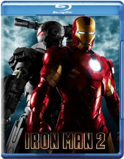 IRON MAN 2 (Blu ray) Robert Downey Jr, Halle Berry, Scarlett Johansson, Sam Rockwell, Mickey Rourke, Gwyneth Paltrow, Brett Ratner Movies & TV