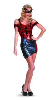 Disguise Women Of Marvel Spider Man Spider Girl Glam Womens Adult Costume, Blue/Red/Black, Large/12 14 Adult Sized Costumes Clothing