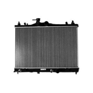 TYC 2981 Nissan Versa 1 Row Plastic Aluminum Replacement Radiator Automotive