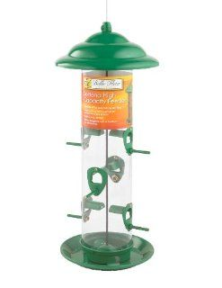 Belle Fleur 50144 Sedona High Capacity Bird Feeder  Wild Bird Tube Feeders  Patio, Lawn & Garden