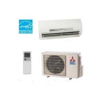 Mr. Slim Split ductless Mitsubishi MSZ Series H2i Heat Pump and Air Conditioner 12,000 BTUs 23 SEER Kitchen & Dining