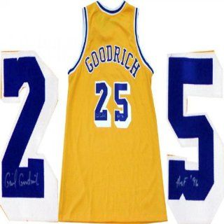 Gail Goodrich HOF 96 Autographed Los Angeles Lakers Jersey Sports Collectibles