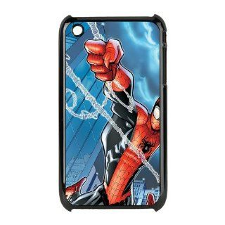 Spider Man iPhone 3 Case Hard Plastic iPhone 3 Case Cell Phones & Accessories