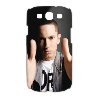 Custom Eminem 3D Cover Case for Samsung Galaxy S3 III i9300 LSM 1465 Cell Phones & Accessories