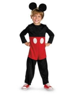 Mickey Mouse Basic Toddler Costume 3T 4T   Toddler Halloween Costume Clothing