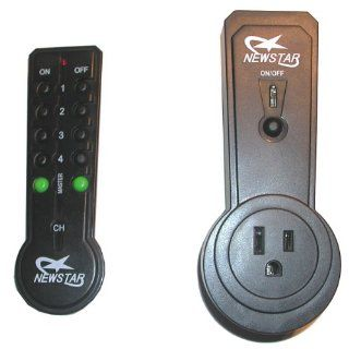 Remote Control for Wall Outlet   Turn On or Off Any Light or Appliance that is Plugged into it from Across the Room Wireless Transmitter   Great for Senior Citizens, Invalids   Electrical Switches