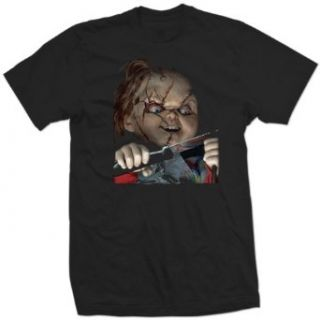 CHILDS PLAY chucky horror classic film movie BT SHIRT Clothing