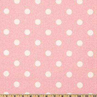 54'' Wide Premier Prints Polka Dot Pink/White Fabric By The Yard