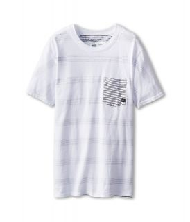 Quiksilver Kids Jailhouse Tee Boys T Shirt (White)