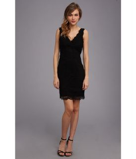 Nicole Miller Marion Lace Dress Womens Dress (Black)