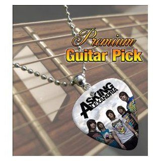 Printed Picks Company Asking Alexandria Premium Guitar Pick Necklace Musical Instruments