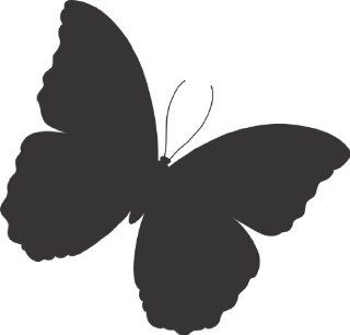 Butterfly wall decal big sticker removable large   Wall Decor Stickers