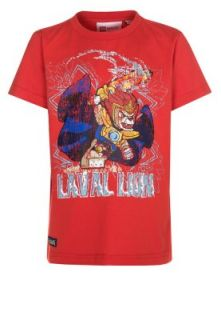 LEGO Wear   THOR   Print T shirt   red