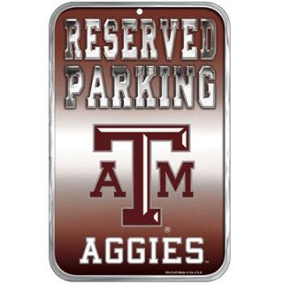 Texas A&M Aggies 11 x 17 Reserved Parking Sign