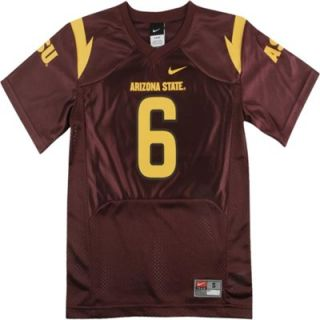 Nike Arizona State Sun Devils Youth #6 Replica Football Jersey
