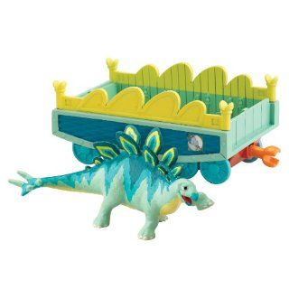 Dinosaur Train   Collectible Morris With Train Car Toys & Games