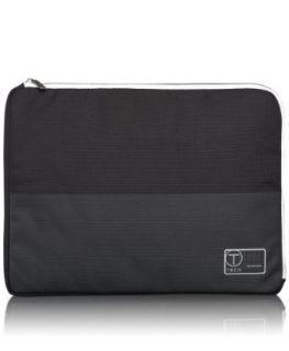 Tumi Luggage T Tech Laptop Cover, Black/White, Large Clothing