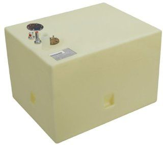 "Moeller Marine Below Deck Permanent Fuel Tank (40 Gallon, 26"" x 20.5"" x 18.5"")  Boat Fuel Tanks  Sports & Outdoors"