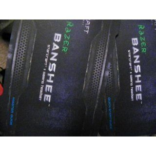 Razer Banshee StarCraft II Gaming Headset Electronics