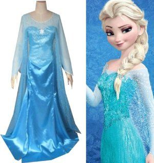Camplayco Frozen Princess Elsa Version 2 Cosplay Costume Toys & Games