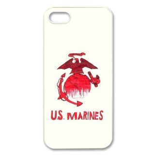 USMC marine corps logo anchor eagle design Iphone 5/5S hard plastic case Cell Phones & Accessories