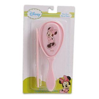 Disney Baby Minnie Mouse Hair Brush & Comb Set (Pink)  Beauty