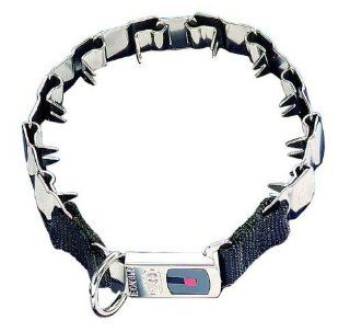 "Herm Sprenger Original NEW Metal Collar ""Neck Tech"", Size 24"", Stainless Steel, Life Time Warranty.  Pet Pinch Collars"
