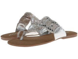 Kenneth Cole Reaction Jaded Coin 2 Womens Sandals (Silver)