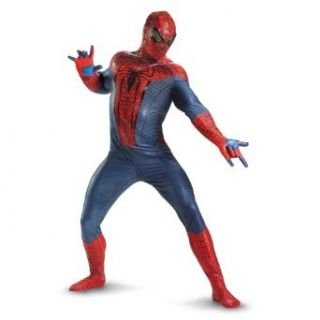 Disguise The Amazing Spider Man Movie Adult Jumpsuit Costume, Red/Blue/Black, XX Large (50 52) Adult Sized Costumes Clothing
