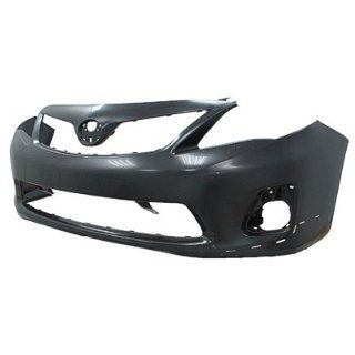 2011 Toyota Corolla Front Bumper Painted 1G3 Magnetic Gray Metallic, FOR S/XRS MODELS, EXCEPT JAPAN BUILT Automotive