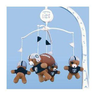 Oakland Raiders NFL Football Infant BABY MOBILE Shower Gift Etc.  Sports Related Merchandise  Sports & Outdoors