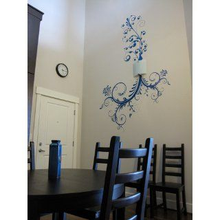 Stickerbrand Vinyl Wall Art Decal Sticker Floral Ornaments Flower #310A   Wall Decor Stickers