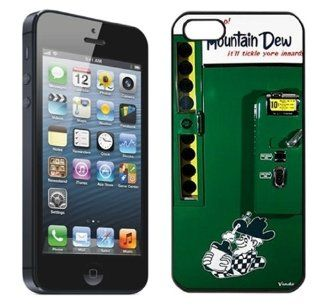 Mountain Dew Logo Cool Unique Design Phone Cases for iPhone 5 / 5S   Covers for iphone 5 / 5S Cell Phones & Accessories