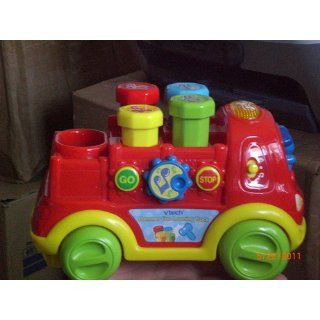 VTech Infant Learning Hammer Fun Learning Truck Toys & Games