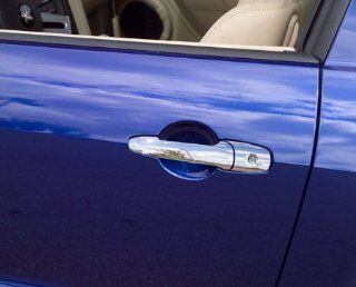 Putco 400022 Ford Mustang Chrome Door Handle Covers   Door Handle Covers Automotive