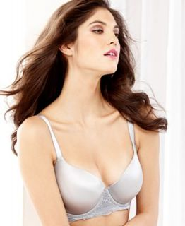 Lilyette Everyday Sexy Balconette with Lace Bra 452   Lingerie   Women